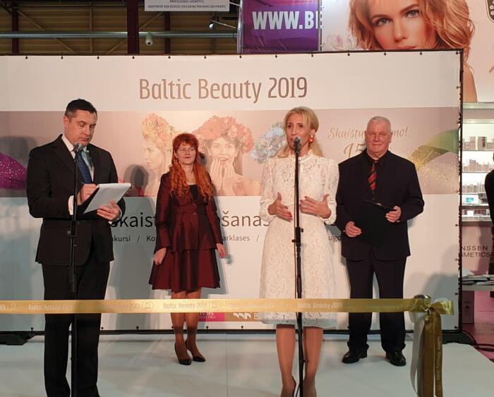 Baltic Beauty 2019 izstādes atklāšana